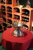 Posto per il vino dell'assaggio Fotografia Stock
