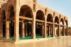 Posto per la preghiera in Al-Mustafa della moschea Sharm el-Sheikh Fotografie Stock Libere da Diritti