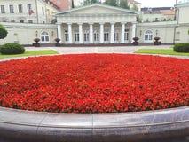 Posto presidenziale in Lituania immagini stock