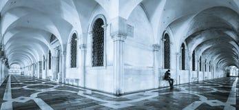 Posto San Marco Venezia Italia del palazzo del ` s del doge di Palazzo Ducale immagini stock libere da diritti