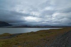 Posto surreale in Islanda Fotografia Stock