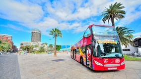 Posto turistico e commerciale in Gran Canaria Fotografia Stock Libera da Diritti