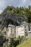 Postojna, Σλοβενία - 11 Ιουλίου 2017: Κάστρο Predjama Στοκ Εικόνες