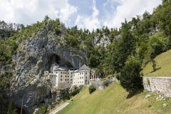 Postojna, Словения - 11-ое июля 2017: Замок Predjama Стоковое Фото