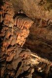 Postojna-Höhle, Slowenien Bildungen innerhalb der Höhle mit Stalaktiten und Stalagmiten Stockfoto