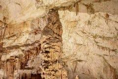 Postojnska jama | Grotta | Grotte Royaltyfria Foton