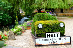 Postoju automobilizmu muzeum Zdjęcie Royalty Free