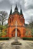 Postorna church in Czech republic Stock Images