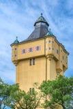 27 postpictogrammen - Hand getrokken graphicsA magische watertoren Royalty-vrije Stock Foto's