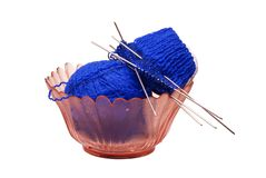 The postponed knitting Royalty Free Stock Photo