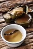 Postre cocido al vapor del chino Fotos de archivo libres de regalías
