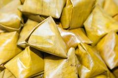 Postre cocido al vapor del festival chino del Año Nuevo Imágenes de archivo libres de regalías