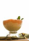 Postre con sabor a fruta del yogur Foto de archivo libre de regalías