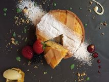 Postre royalty free stock photography