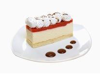 Postre de Cake.sweet. Imagenes de archivo