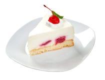 Postre de Cake.sweet aislado Fotografía de archivo