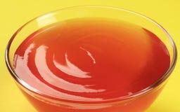 Postre de gelatina Fotos de archivo