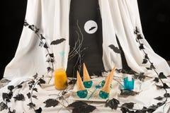 Postre de Halloween Foto de archivo libre de regalías