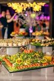 Postre de la boda de la comida del abastecimiento Fotografía de archivo libre de regalías