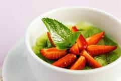 Postre de la ensalada de fruta fresca Fotografía de archivo