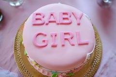 Postre de la fiesta de bienvenida al bebé Imagen de archivo libre de regalías