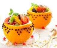 Postre de la fruta fotografía de archivo