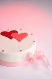 Postre de la torta Fotografía de archivo