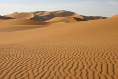 Postre de Sáhara - Marruecos imagen de archivo libre de regalías