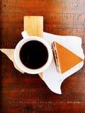 Postre del café fotos de archivo