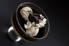 Postre del chocolate Fotos de archivo