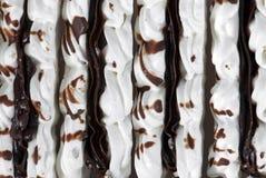 Postre del chocolate Foto de archivo libre de regalías