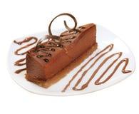 Postre del chocolate cake.sweet Fotos de archivo libres de regalías