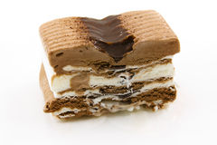 Postre del helado Imagenes de archivo