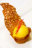 Postre del limón Imagenes de archivo