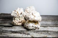 Postre del merengue foto de archivo libre de regalías