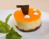 Postre delicioso de la torta .sweet Imagen de archivo libre de regalías