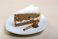 Postre delicioso de la torta .sweet Imágenes de archivo libres de regalías