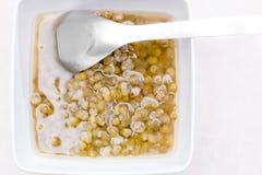 Postre Mung Bean Sweet Soup Fotografía de archivo