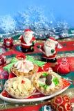Postre para la Navidad Imagen de archivo