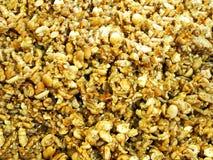 Postre tailandés - cereal dulce delicioso del caramelo Imagen de archivo libre de regalías