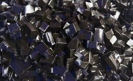 Postre vegetal negro chino de la jalea Foto de archivo libre de regalías