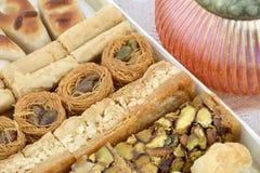 Postres dulces sirios Imágenes de archivo libres de regalías