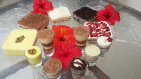 Postres Royalty Free Stock Photography
