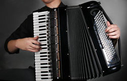 Postrzępeni guziki akordeon obraz royalty free