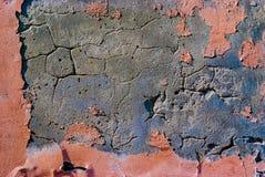 Postrzępiona stara stiuk ściana Zdjęcie Stock