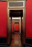 Posts adornados de la puerta Imagen de archivo