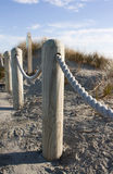 Posts by the beach Royalty Free Stock Photos