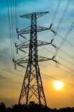 Posts de la electricidad libre illustration