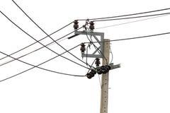 Posts de la electricidad Imagen de archivo