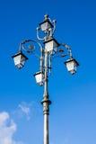 Posts de la lámpara imagenes de archivo
